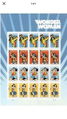 Scott#5149 Wonder Woman Full Sheet Of 20 MNH Stamps
