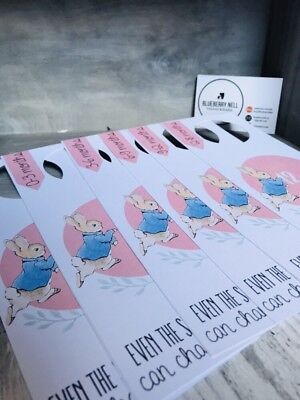 *new* Peter Rabbit Wardrobe/Closet Dividers - Baby Shower Gift - PINK
