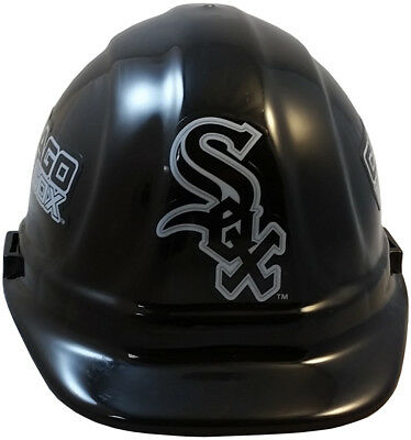MLB CHICAGO WHITE SOX OSHA Approved Hard Hat Ratchet or Pin Type Susp