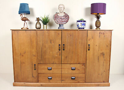 Unusual Form Attic Wardrobe Large Fitted Sideboard