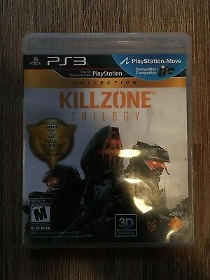 Killzone Trilogy (Sony PlayStation 3, 2012) PS3 - Complete in box CIB