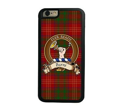 Burns Scottish Clan Tartan Apple iPhone 7/8  iPhone 7/8 Plus case
