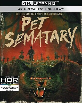 Pet Sematary (30th Anniversary Edition)(4K Ultra HD)(UHD)(Dolby Vision)