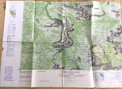 RAF Aeronautical Chart Map War Office Military  Sarvane Laos Thailand