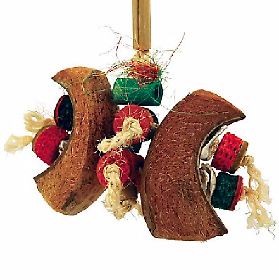 Coco Butterfly Parrot Toy - Made With Natural Chewable And Shreddable Materials