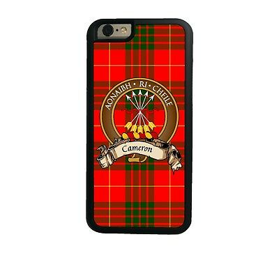 Cameron Scottish Clan Tartan Apple iPhone 6  iPhone 6 Plus case