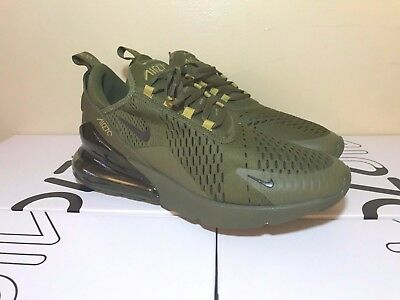 sports shoes caeeb e609f NIKE AIR MAX 270 Triple Olive, AH8050 301, Brand New