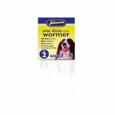 Johnsons One Dose Wormer size2 B052
