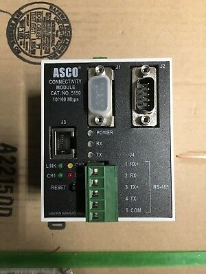 New ASCO/Emerson 629800-004H 5150 Connectivity Module