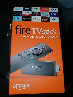 Amazon Fire TV Stick with Alexa Voice Remote (2nd Generation) 8GB Media