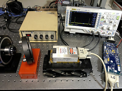 Coherent Sapphire 488-20 CW Laser System 488nm 20mW w/ Controller+PSU SLM