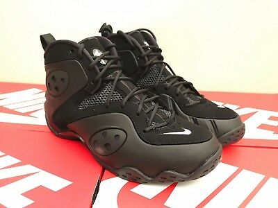 953590187d6 2018 NIKE ZOOM Rookie Retro SZ 11 Triple Black Penny Foamposite ...