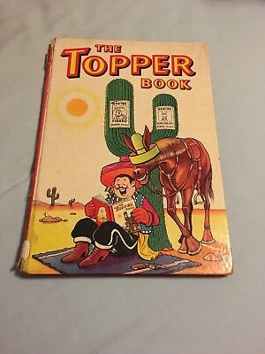 The Topper Book 1961 Vintage Comic Book Annual