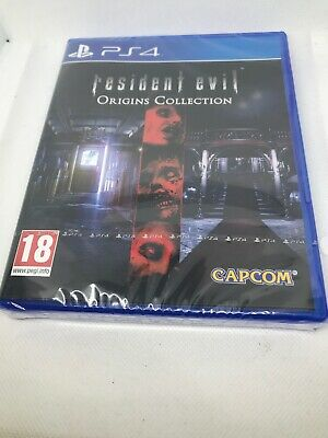 Resident Evil Origins Collection (Sony PlayStation 4, 2016 PAL) Brand new