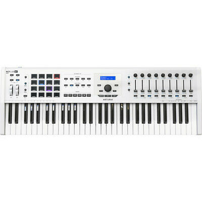 NEW (OPEN BOX) Arturia KeyLab 61 MKII Keyboard Controller (Black) FAST SHIPPING