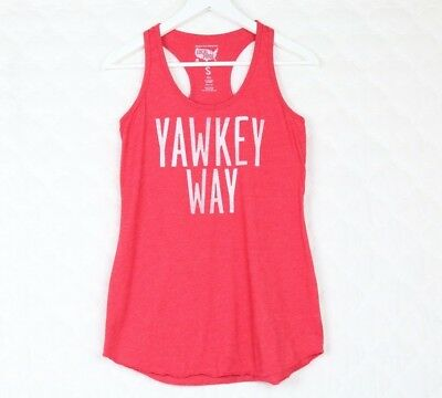 ac28fcef60b91 Local Pride by Todd Snyder Yawkey Way Women s Tank Small Red Racer Back  Boston