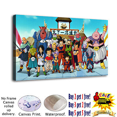 Dragon Ball Photo HD Canvas Print Painting Home Decor room Wall Art Picture 4866