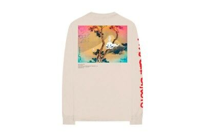 KIDS SEE GHOSTS LONG SLEEVE SHIRT KANYE WEST OFF White murikami Size Medium