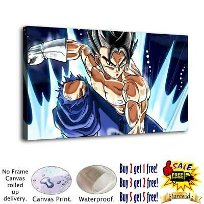 Dragon Ball Gohan HD Canvas Print Painting Home Decor room Wall Art Picture 4888