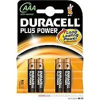 81275396 Duracell Duracell Plus Power AAA Alkaline 1.5V non-rechargeable battery