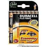 81275415 Duracell Duracell Plus Power AAA Alkaline 1.5V non-rechargeable battery