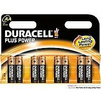 81275377 Duracell Duracell Plus Power AA Alkaline 1.5V non-rechargeable battery