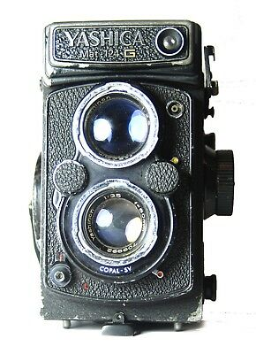 Camera Yashica Mat 124G - For Parts.