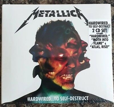 Metallica Hardwired... To Self Destruct 2 Cd - New Release November 2016