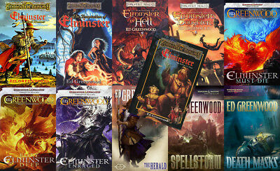 The ELMINSTER Series By Ed Greenwood (11 MP3 Audiobook Collection)