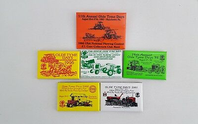 Annual Olde Tyme Days Usa National Plowing Contest Pins, Tractor Pull