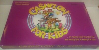 """*NEW* """"CASHFLOW for KIDS: What The Rich Teach Their Kids About Money"""" BOARD GAME"""