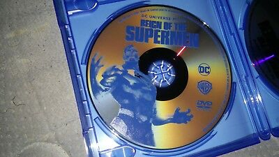 REIGN OF THE superman DVD only 2019 dc film