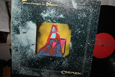 Carmen - Fandangos In Space LP Vinyl - NM - Original 1973 German pressing