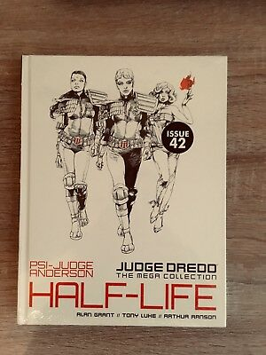 Judge Dredd Mega Collection Issue 42 Jusge Anderson Half-Life New And Sealed.