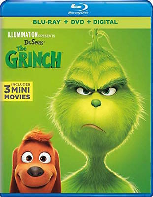 Dr. Seuss' The Grinch - [Blu-Ray/dvd Combo Pack] - New Unopened