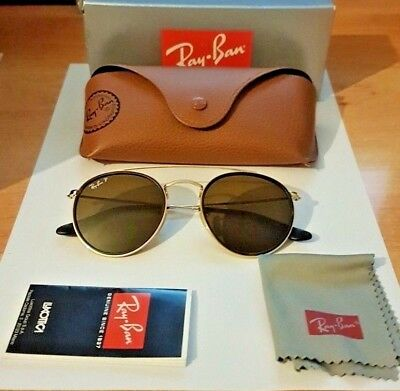 fee41f8822c9a Ray-Ban double bridge marron classique B-15 taille standard. comme neuf