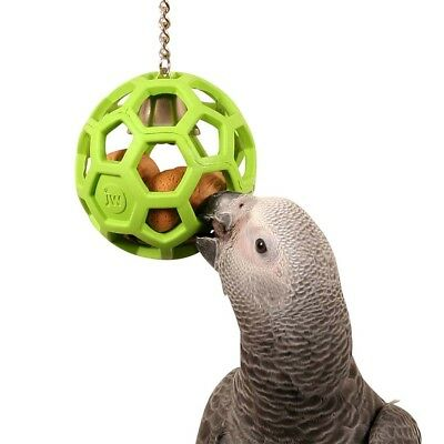 Hol-ee Roller Foraging Durable Rubber Toy for Medium Parrots NTO
