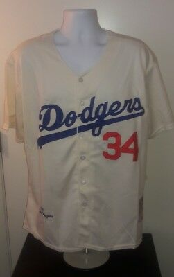 Fernando Valenzuela Los Angeles Dodgers 1981 Mitchell and Ness Jersey XL e7d6ee05f41
