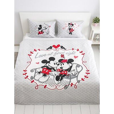 Bettwäsche Set 200x220 Disney Minnie Und Mickey Mouse