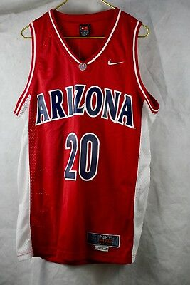f6a4b4c509cc Vintage Arizona Wildcats Nike Elite Basketball Jersey  20 Size MEDIUM RED