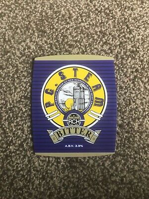 RCH PC Steam Bitter Beer Pump Clip Breweriana Brand New Free Fast P+P