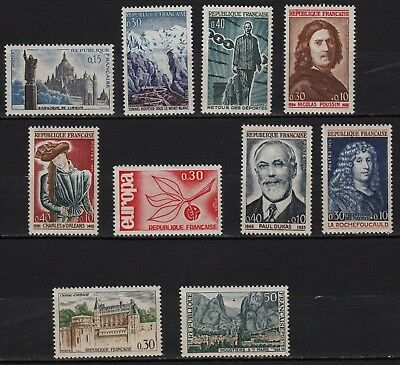 Ag173** Lot x10 Timbres /Neuf**MNH TBE (entre 1960 et 1965)