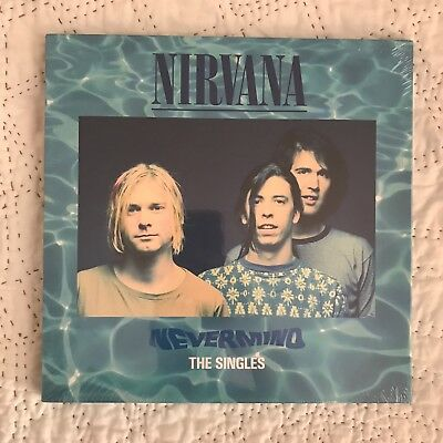 "Nirvana ""Nevermind: The Singles"" 2011  Vinyl LP 10"" Limited Numbered and Sealed"