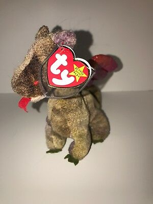 f209e04b690 Ty Beanie Babies Scorch the Dragon 5th Generation
