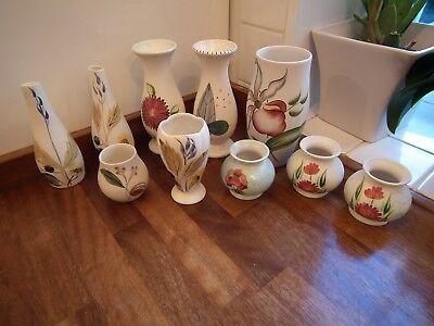 Radford Pottery Floral Decorated Items Qty 10