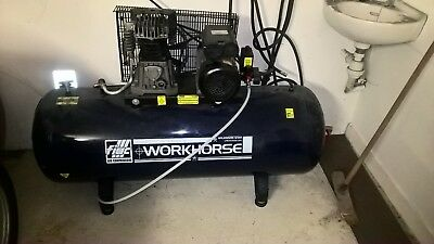 Careful New 100l Litre Belt Drive Engine Air Compressor 11.6cfm 3hp 240v 115psi 8 Bar Moderate Price Ebay Motors