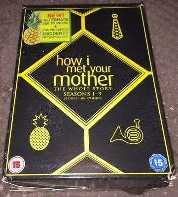 How I Met Your Mother DVD Boxset The Complete Collection Seasons 1-9 (Series)
