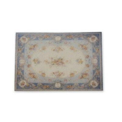 """1:48 Scale Dollhouse Area Rug 0000535 - approximately 2-1/8"""" x 3-3/16"""""""