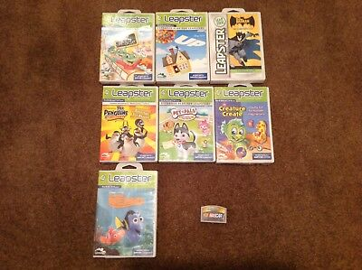 Leap Frog Leapster Lot of 8 Games