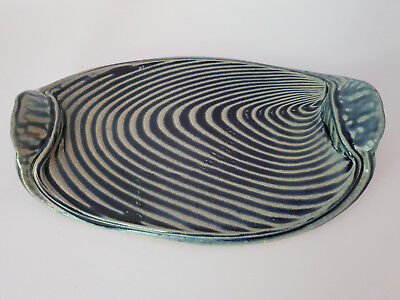 Australian Studio Pottery Tray Platter By Andrew Cope